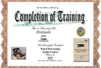 Army Certificate Of Completion Template 7