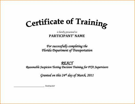 Army Certificate Of Completion Template 9