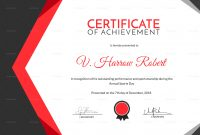 Athletic Certificate Template 9