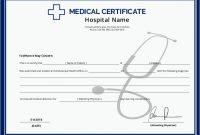 Australian Doctors Certificate Template 6