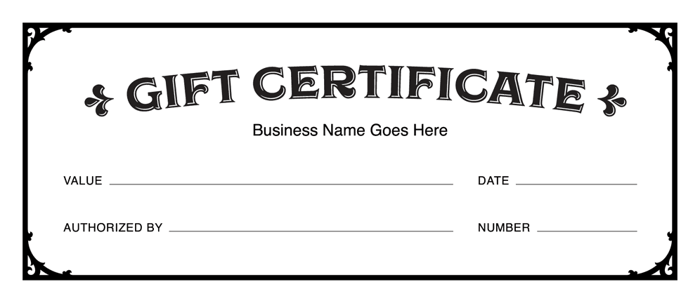 Automotive Gift Certificate Template 7