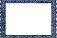 Award Certificate Border Template 11