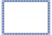 Award Certificate Border Template 6
