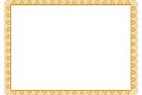 Award Certificate Border Template 9