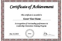 Award Certificate Template Powerpoint 4