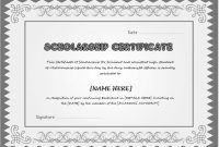 Award Certificate Templates Word 2007 6