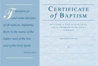 Baptism Certificate Template Download 11