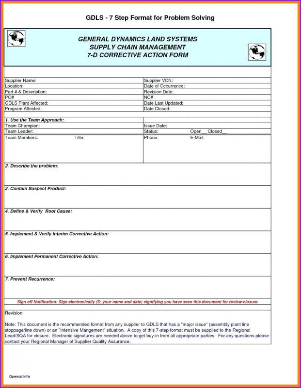 8d Report format Template Professional 8d Report Vorlage Excel Kerstinsudde Se