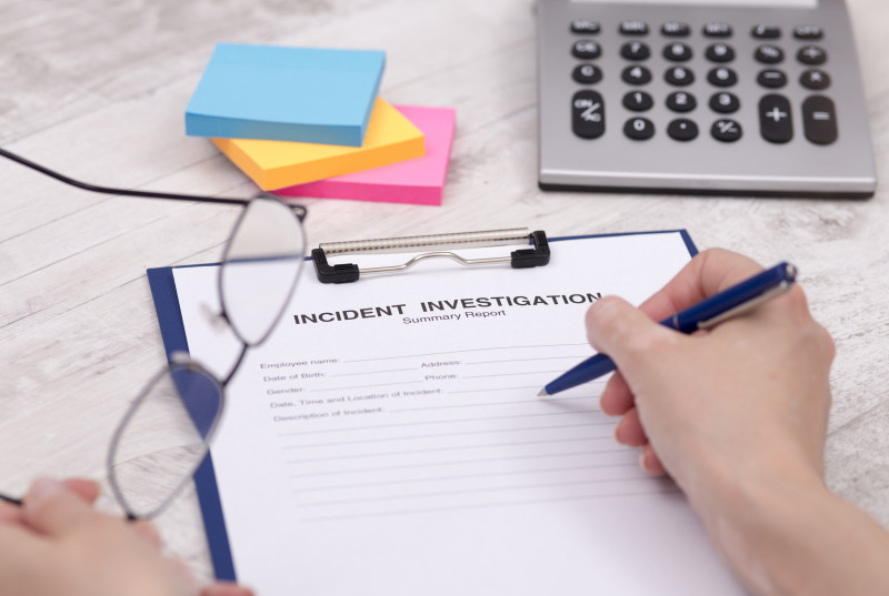 Annual Health and Safety Report Template New Complaint Investigation Process