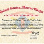 Army Certificate Of Achievement Template Awesome Certificate Of Appreciation Usmc Karis Sticken Co