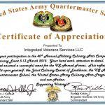 Army Certificate Of Achievement Template Unique Veterans Appreciation Certificate Template Paramythia