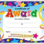 Award Certificate Border Template New Printable Preschool Graduation Awards