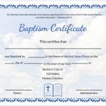 Baptism Certificate Template Download New Free Baptism Certificate Template Word Rama Ciceros Co
