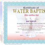 Baptism Certificate Template Word Awesome Nice Baptism Certificate Pictures Baptism Certificate Premium