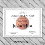 Basketball Certificate Template Unique Printable Sports Award Certificate Templates