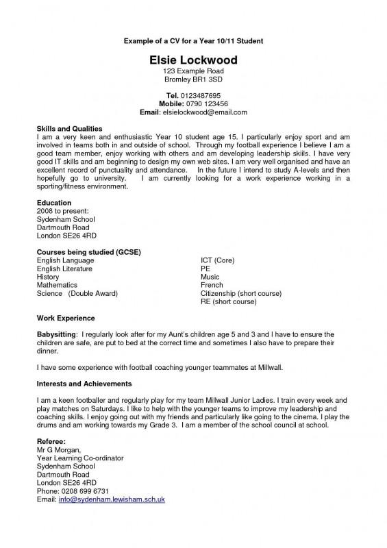 Boyfriend Report Card Template New Resume Examples Year 10 Resume Examples Resume Examples Cv