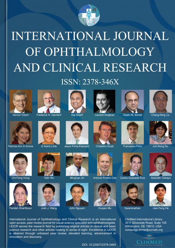 Case Report form Template Clinical Trials New International Journal Of Ophthalmology and Clinical Research