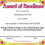 Certificate Of Appearance Template Awesome Funny Award Certificates Fresh Certificate Achievement Template