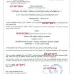 Certificate Of Conformance Template Awesome Zavod Za Aeronautiku