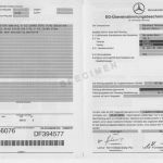 Certificate Of Conformance Template Free Unique Certificate Of Conformity Coc Mercedes