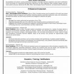 Certificate Of Experience Template New 12 Experienced Rn Resume Samples Resume Database Template