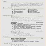Certificate Of Experience Template Unique Resume format Website Unique Birth Certificate Maker Sample Design