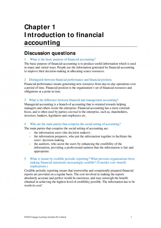 Charge Nurse Report Sheet Template Awesome Book Financial Accounting An Integrated Approach Chapter 1 6