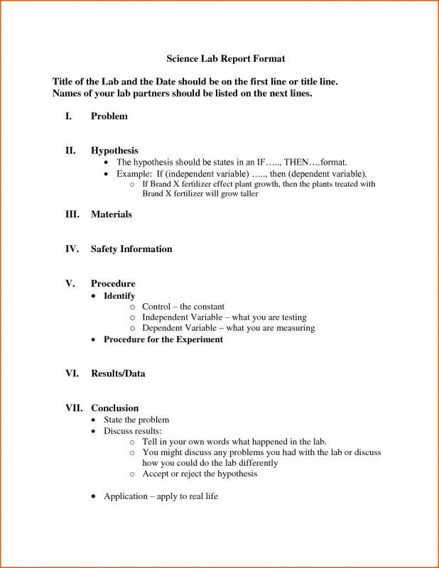 Chemistry Lab Report Template Professional 009 formal Lab Report Template Frightening Ideas Biology Chemistry