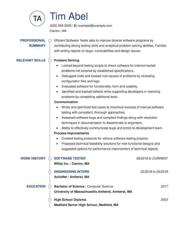 Construction Deficiency Report Template Professional 30 Resume Examples View by Industry Job Title