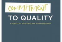 Country Report Template Middle School Unique A Blueprint for High Quality New School Development