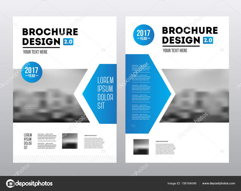 Cover Page for Annual Report Template Awesome Business Brochure Design Annual Report Vector Illustration Template