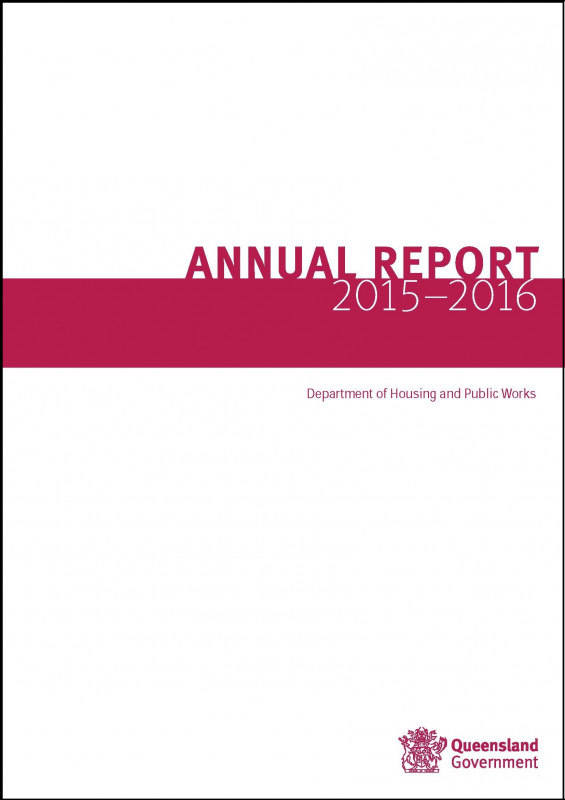 Cover Page for Annual Report Template Unique Annual Reports Department Of Housing and Public Works
