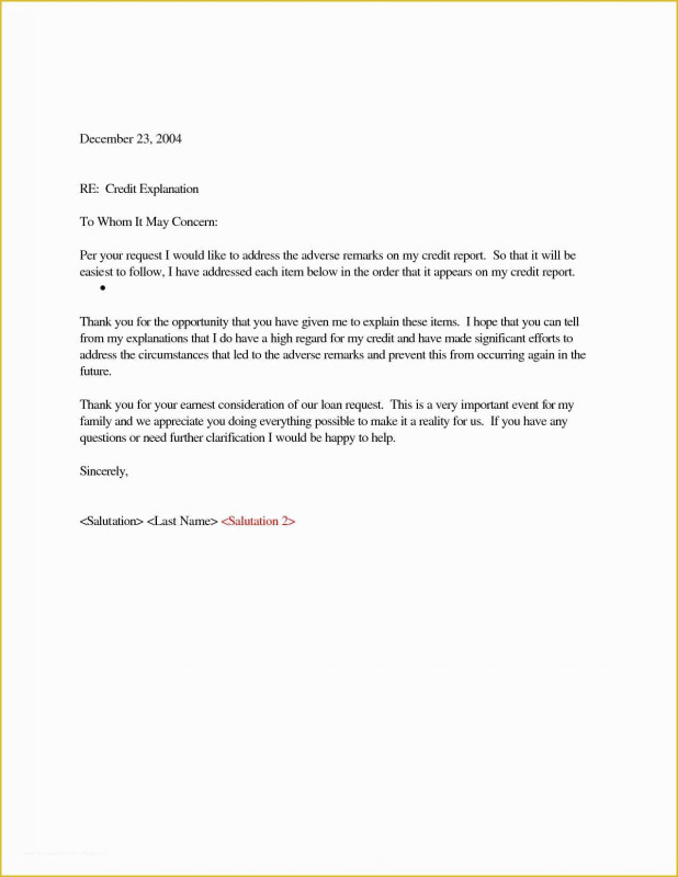 Credit Report Dispute Letter Template Professional Free 609 Credit Dispute Letter Templates Of Credit Freeze Letter