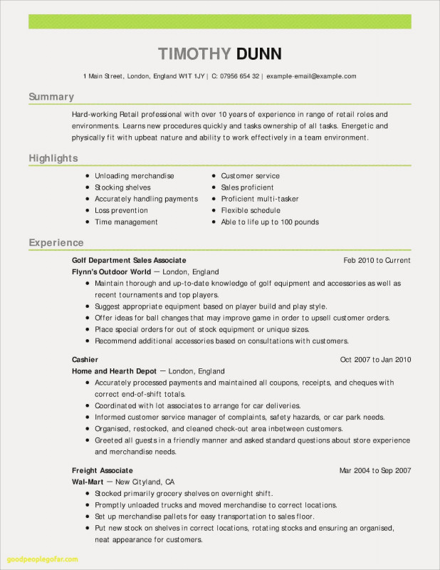Customer Visit Report format Templates Unique 14 Retail Customer Service Resume Examples Resume Database Template