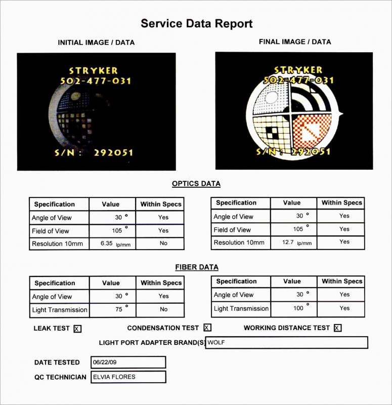 Daily Inspection Report Template Awesome Lovely Free Field Service Report Template Best Of Template