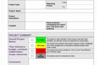 Daily Project Status Report Template Unique 016 Weekly Status Report Template Ideas 20template format20ect
