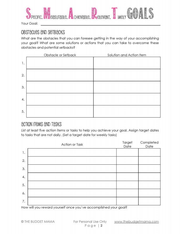 Daily Report Card Template for Adhd New How to Set Goals and Achieve them so Blessed to Be A Life Coach