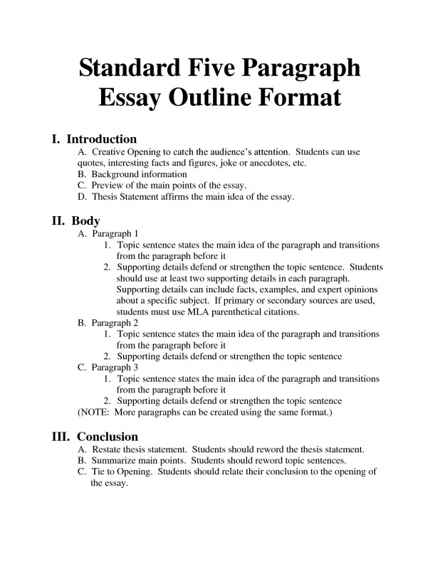 Daily Report Card Template for Adhd Unique Standard 5 Paragraph Essay Outline format University Essay