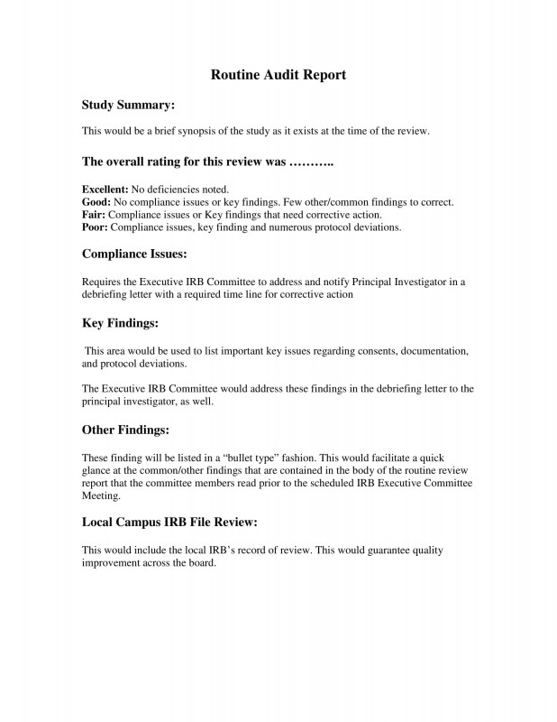 Engineering Inspection Report Template Awesome 22 Business Report Format Examples Pdf Doc Pages Examples