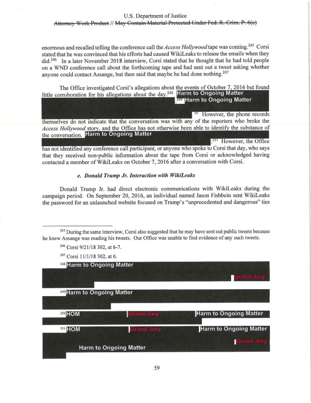 Event Debrief Report Template Professional Read The Mueller Report The Full Redacted Version Annotated