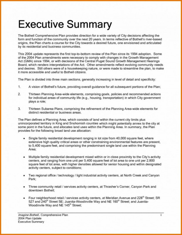 Executive Summary Report Template Awesome 024 Research Paper Executive Summary for Example Of Finance