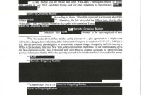Failure Investigation Report Template Awesome Read The Mueller Report The Full Redacted Version Annotated