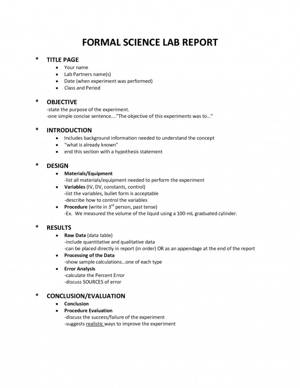 Fault Report Template Word New 004 Lab Report order Science Template Fearsome Ideas Example