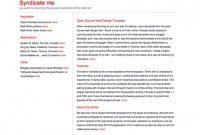 Fleet Management Report Template New 80 Free 2 Column Website Templates