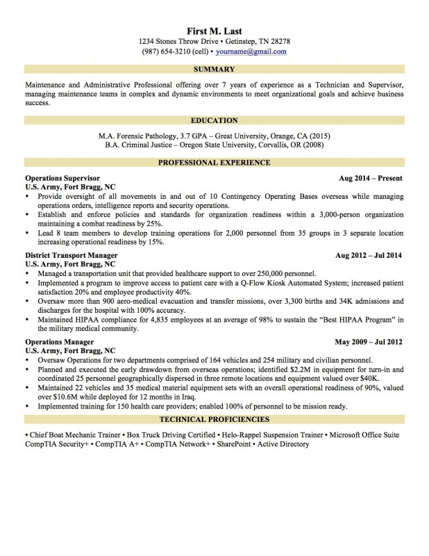 Forensic Report Template Awesome Best Of Sample It Resume For Experienced Atclgrain
