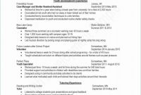 Forensic Report Template Professional Resumes for Experienced Professionals Professional Professional