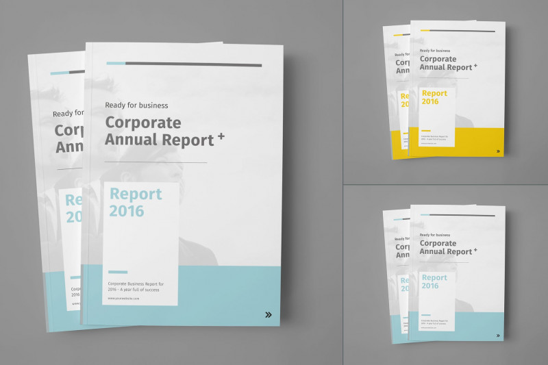 Free Annual Report Template Indesign Professional Annual Report by Egotype On Envato Elements