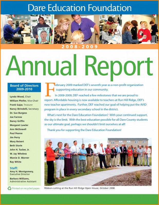 Free Annual Report Template Indesign Unique 010 Nonprofit Annual Report Template Ideas Free Non Profit Of