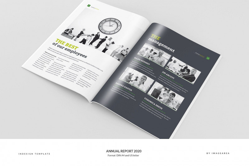 Free Indesign Report Templates Awesome Annual Report 2020 Reportannualtemplatesbrochure Design