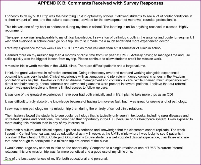 Gap Analysis Report Template Free New Sample Survey Analysis Report Glendale Community